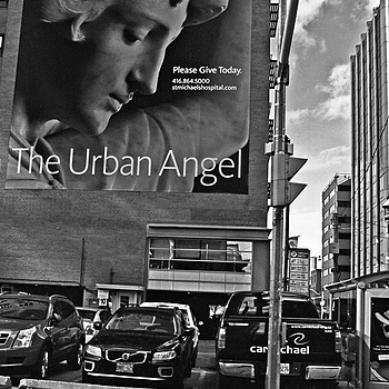 The Urban Angel | NIKON 24MM F/2.0