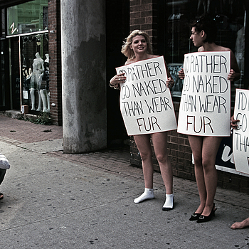 I'd rather go naked than wear fur | NIKON 24MM F/2.0 <br> Click image for more details, Click <b>X</b> on top right of image to close