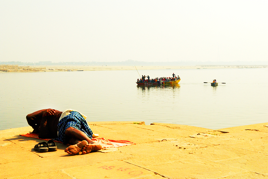 Varanasi Ghat | LENS MODEL NOT SET <br> Click image for more details, Click <b>X</b> on top right of image to close