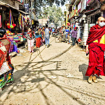 Bodhgaya Street | LENS MODEL NOT SET <br> Click image for more details, Click <b>X</b> on top right of image to close