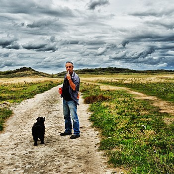 Me, My old dog, and I. | LENS MODEL NOT SET <br> Click image for more details, Click <b>X</b> on top right of image to close