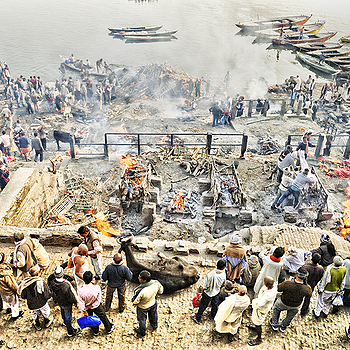Manikarnika Ghat | LENS MODEL NOT SET <br> Click image for more details, Click <b>X</b> on top right of image to close