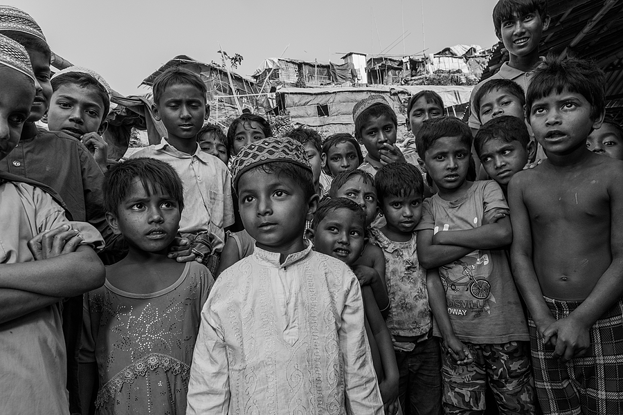 Children of the Rohingya | NIKON 24-70MM F/2.8G ED AF-S N <br> Click image for more details, Click <b>X</b> on top right of image to close