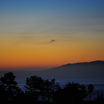 Sunrise over Monterey Bay | NIKON 180MM F/2.8 ED <br> Click image for more details, Click <b>X</b> on top right of image to close