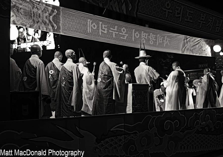 Buddhist Monks Red Filter | NIKON 50MM F/1.8 AF <br> Click image for more details, Click <b>X</b> on top right of image to close