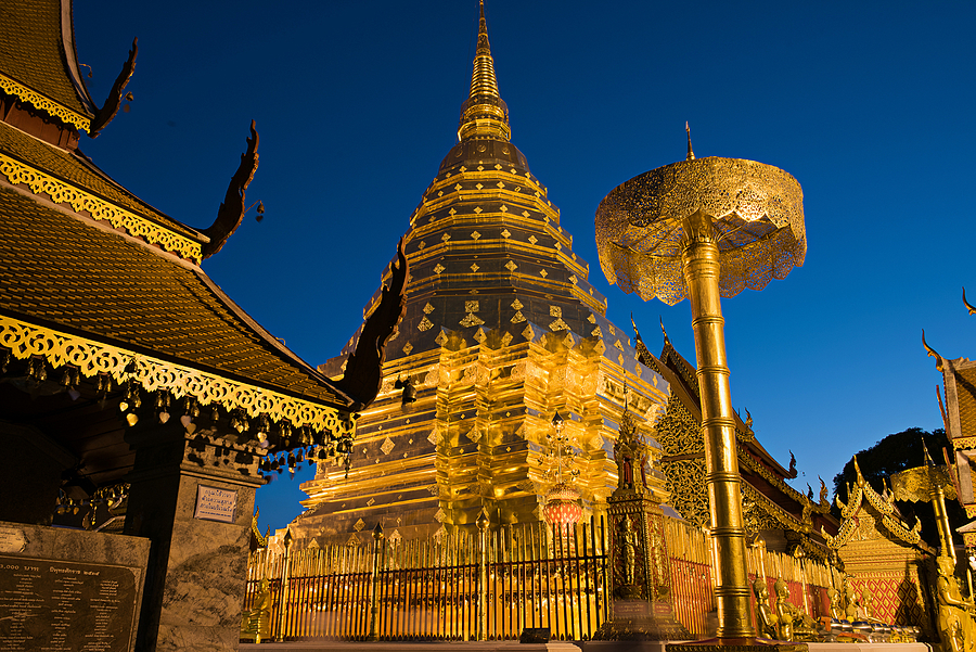 Golden Doi Suthep | NIKON 24-70MM F/2.8G ED AF-S N <br> Click image for more details, Click <b>X</b> on top right of image to close