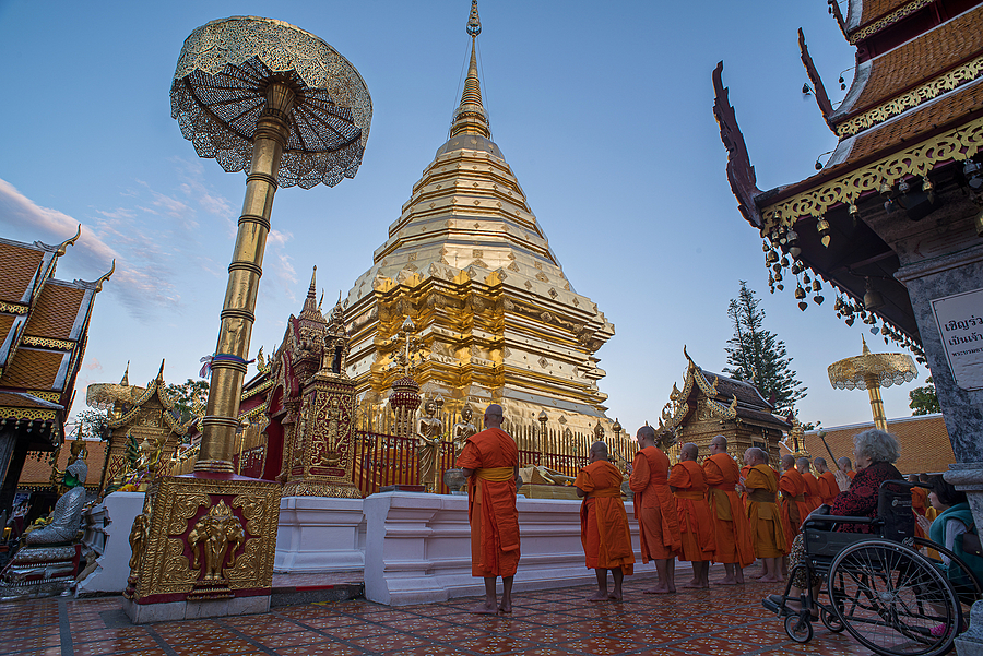 Wat Prathat Doi Suthep | NIKON 24-70MM F/2.8G ED AF-S N <br> Click image for more details, Click <b>X</b> on top right of image to close