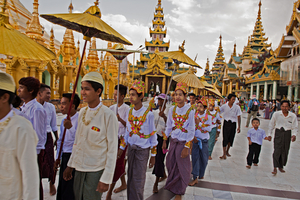 Myanmar Buddhists