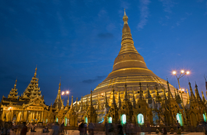 The Shwedagon Paya Northeast Entr