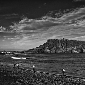 Beach Fishing Near Seongsan Ilchulbong Jeju Island | NIKON 18-35MM F/3.5-4.5D ED-IF AF <br> Click image for more details, Click <b>X</b> on top right of image to close