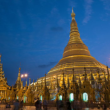 The Shwedagon Paya Northeast Entrance | NIKON 24-70MM F/2.8G ED AF-S N